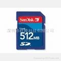 闪存卡 SD512MB