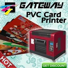 Digital flatbed uncoating direct printer