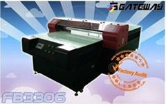 Large fomat solvent flatbed printer