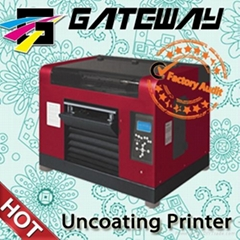 white ink  flatbed printer