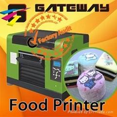 Cake flatbed printer