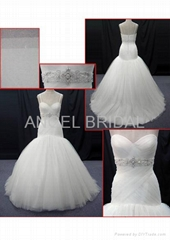hot sell wedding dress bridal gown V0057