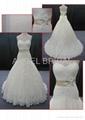 lace wedding gown bridal dress V0058