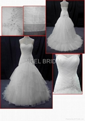 hot sell wedding dress bridal gown V0008