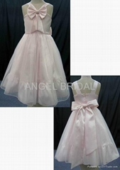 flower girl dress F0006