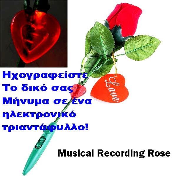 MAGIC ROSE - ΡΟΜΑΝΤΙΚΟ ΤΡΙΑΝΤΑΦΥΛΛΟ