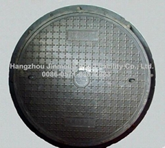 Anti-theft Manhole cover with lock