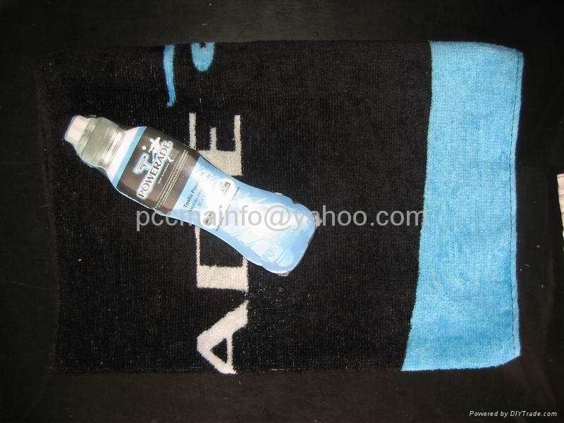 Compressed Beach Towels Velour with Reactive Printed 1
