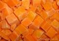 frozen carrort dices slices