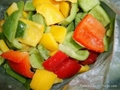 frozen green peppers dices iqf green