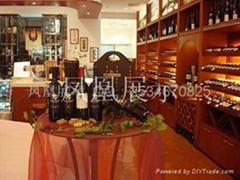 紅酒展櫃設計