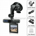 2.5 Inch Car DVR (TFT LCD Screen + SD Card Slot)