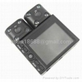 Dual Camera 8-IR LED Night Vision Car DVR Camcorder 2.0 inch TFT LCD TV Out