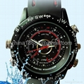 Waterproof 2.0MP 30fps High Definition 1280x960 Spy Fashion Watch Digital Video