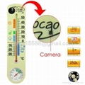 Thermometer Motion Activated Spy Camera with 4GB Internal Memory