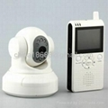 2.4GHz 2.5 inch LCD Receiver Wireless Baby Monitor Pan/Tilt Night Vision Camera