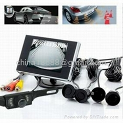 4 Sensor and Rear View Wireless Camera Car Parking Kits