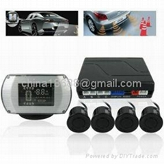 Car Reversing - 4 Parking Sensors + Command Box + Display Monitor