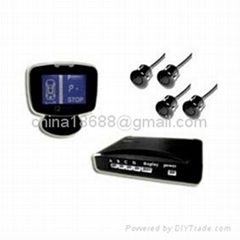 Car Rearview Camera with LCD Parking Sensor with USA CPU