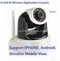H.264 & MJPEG PTZ IP Video CCTV Camera Support Wifi Mobile Phone view