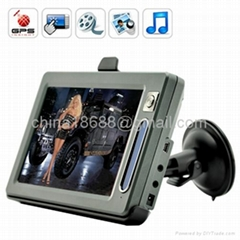 "Battlestar 7"" Touch GPS Navigator with Bluetooth & Transmitter (GG6012)"