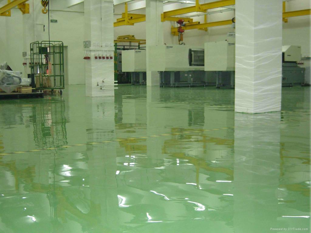 Self Leveling Flooring Service : Epoxy self leveling floor paint tortoise shell resin