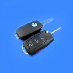 VW Touareg Remote Key Shell (3+1) Button