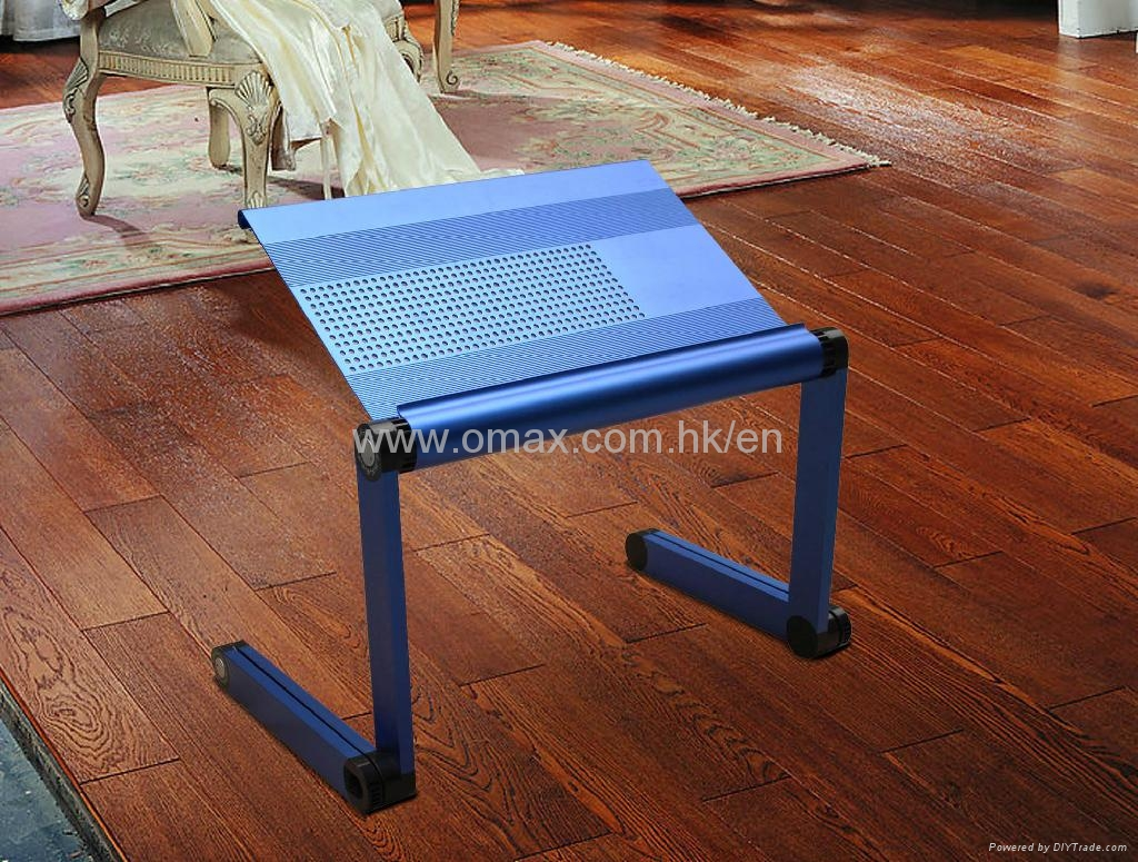 Aluminium Alloy Laptop Desk Outdoor And Indoor Studying