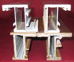 steel-plastic co-extrusion moulds