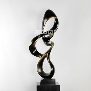 欧式抽象流线造型艺术品摆件 1