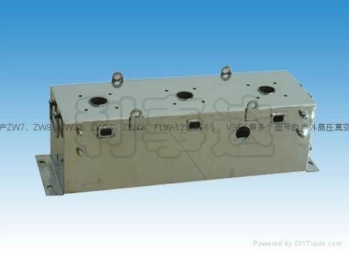 ZW43永磁户外高压真空断路器 1