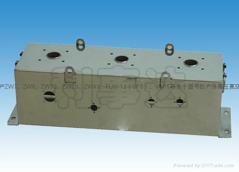 ZW43永磁户外高压真空断路器 2