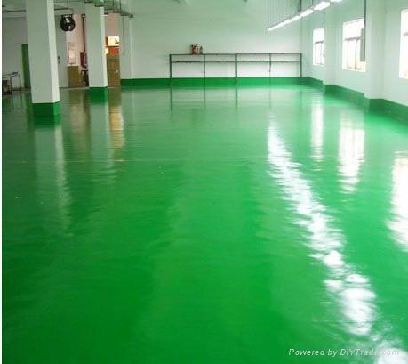 塘廈無塵地板漆施工 2