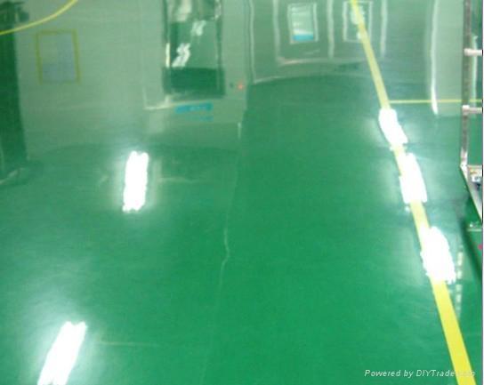 塘廈無塵地板漆施工 3