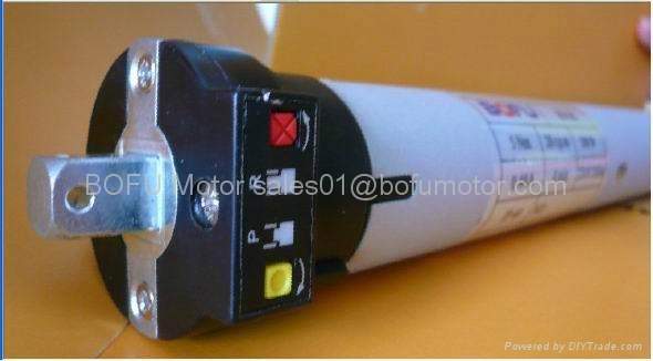 Ac tubular motor switch control for roller blinds for Do it yourself motorized blinds
