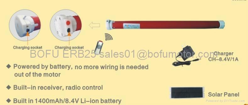Battery Tubular Motor 4