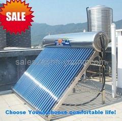 2013 new vacuum tube non pressure solar energy water heater