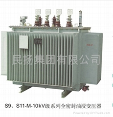Totally enclosed oil-immersed transformer