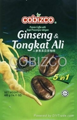 5 In 1 Ginseng & Tongkat Ali Premix Coffee