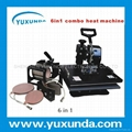 HOT 6 in 1 multifunctional combo heat press machine