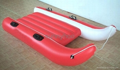 inflatable snow sled