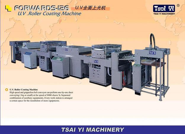Auto UV Roller Coating Machine 1
