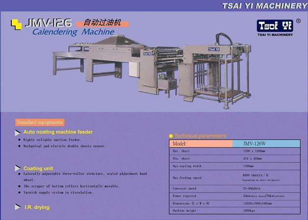 Auto Calendering Machine 1