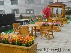 北京园林景观桌椅