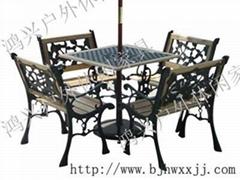庭院鑄鐵桌椅