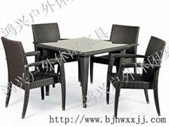 藤編桌椅仿藤陽台桌椅