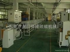 硅膠電纜擠出生產線