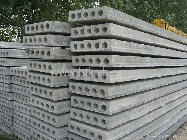 Precast Concrete Hollow Core Roof Slab Machine Tw 120 X