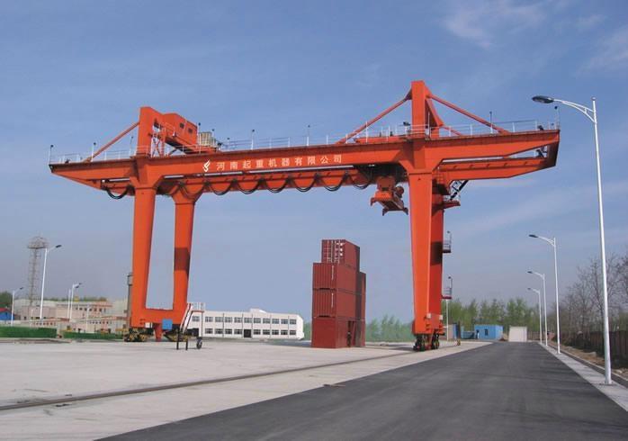 Rail mounted gantry crane - RMG - yefei (China) - Construction Machine - Industrial Supplies ...
