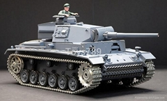 1/16 SCALE AIRSOFT BB REAL RADIO CONTROL PANZERKAMPFWAGEN lll BATTLE TANK (Metal